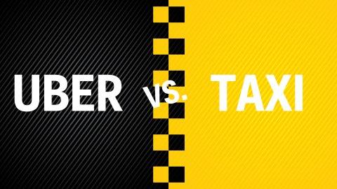 Khách biệt giữa Uber vs Taxi truyền thống