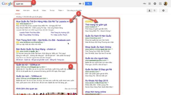 Hệ thống quảng cáo Google Adwords