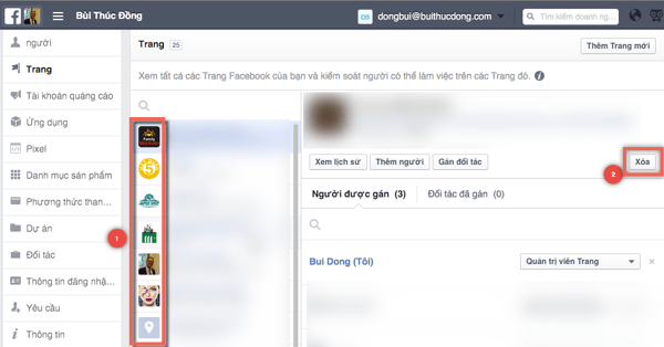 Lam the nao de thoat facebook for business