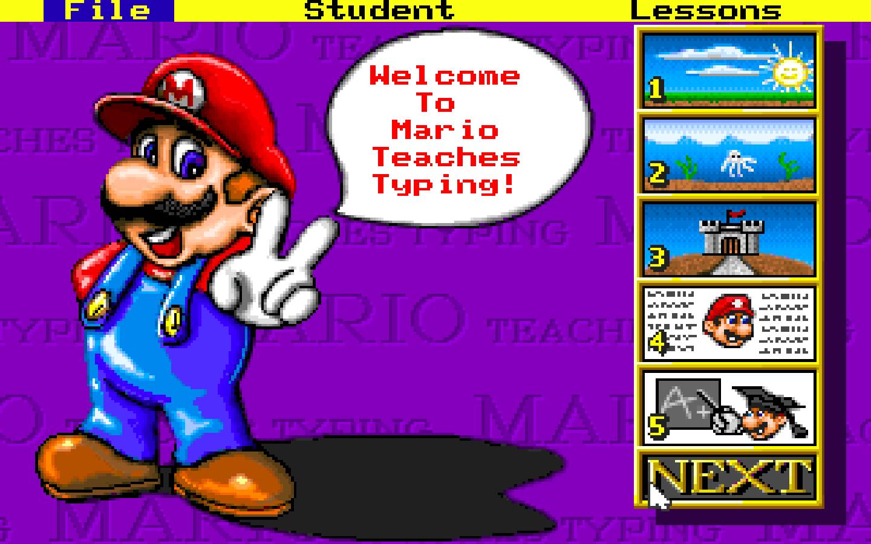 Tải về Mario Teaches Typing